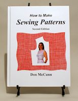 Hardback edition of 'How to Make Sewing Patterns, Second Edition'